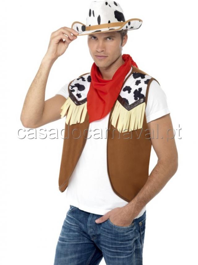 439b5a9c2d0e5 Kit Cowboy Chapeu