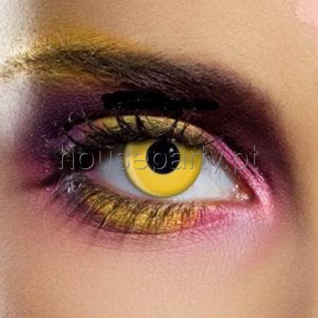 a6b2c429a Lentes de Contacto Efeitos Especiais Amarelas - CARNAVAL - Catalogo ...