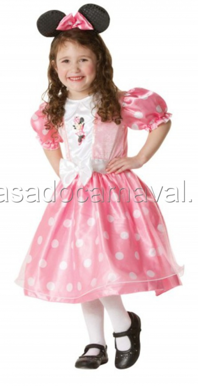 8baa388a6 Fato Minnie Rosa  Original) - CARNAVAL - Catalogo