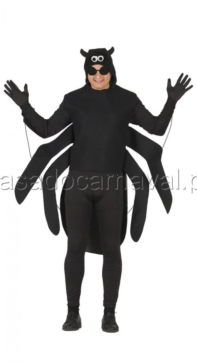 Fato de aranha carnaval catalogo a casa do carnaval for Disfraces de bichos