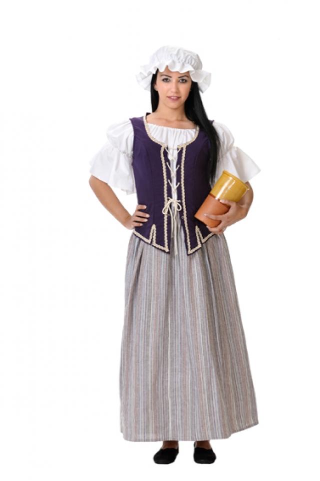 disfraz epoca medieval puta